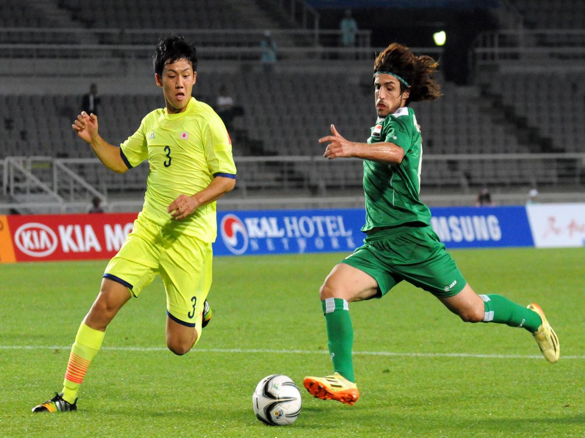 لاعب المنتخب العراقي همام طارق