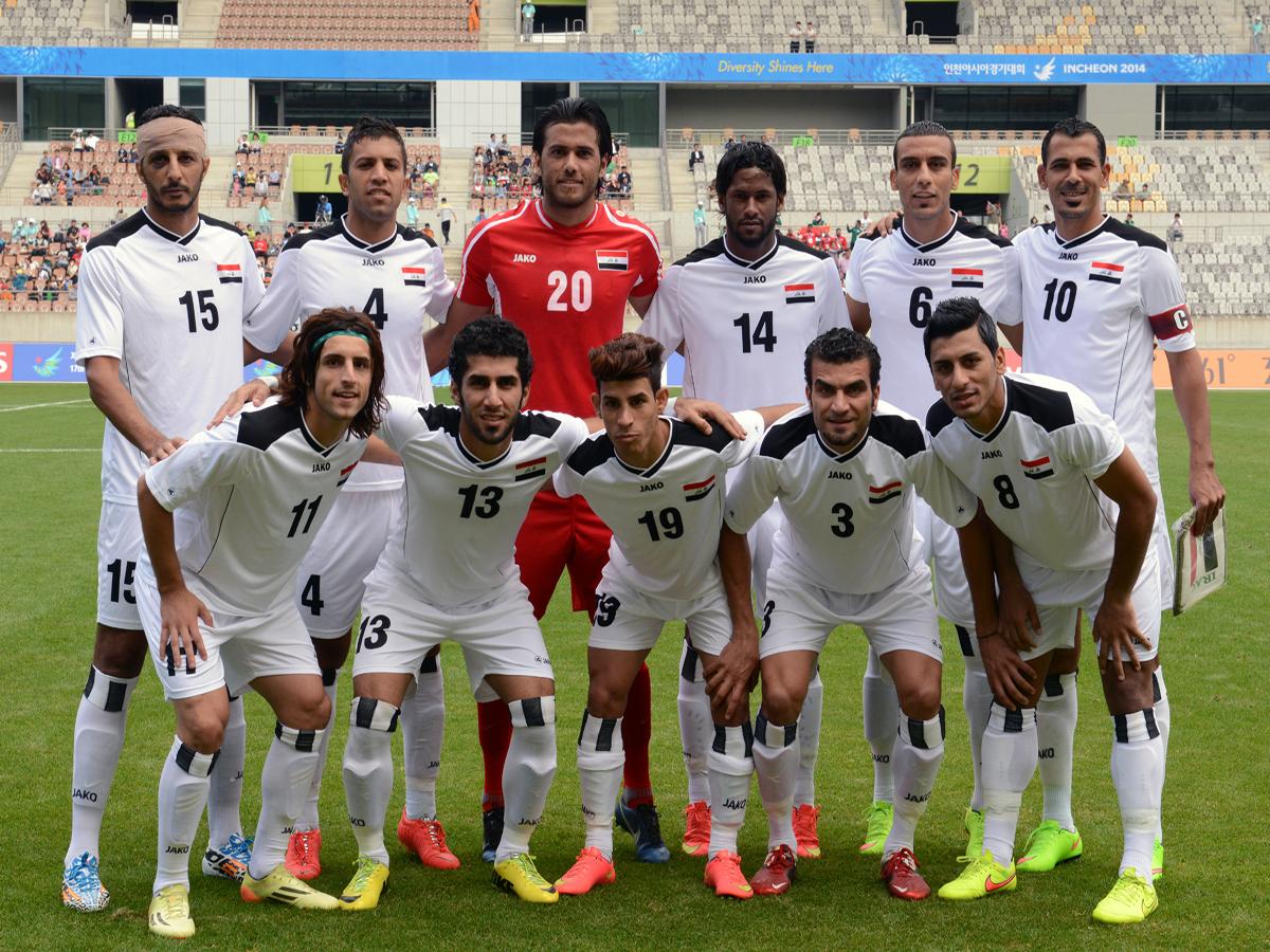 المنتخب الاولمبي العراقي - دورة الالعاب الاسيوية 17 في انشون كوريا الجنوبية